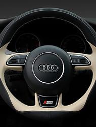 economico -Coprivolanti per automobili (pelle) per audi tutto l'anno a1 q5 a5 tt q3 a3 a4l a6l