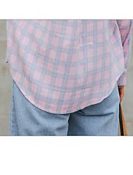 cheap -Women's Active Cotton Shirt - Lolita Shirt Collar