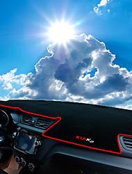 Недорогие -автомобильный Маска для приборной панели Коврики на приборную панель Назначение Kia 2015 2016 2011 2012 2013 2014 K2