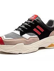 abordables -Homme Chaussures Tulle Printemps / Automne Confort Chaussures d'Athlétisme Basketball / Football Gris / Amande