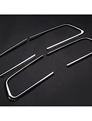 cheap -Automotive Door Armrest Protective Cover DIY Car Interiors For Toyota 2010 2011 2012 2013 2014 2015 2016 2017 LAND CRUISER PRADO Metal