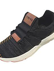 Muškarci Cipele Tkanina Proljeće Jesen Svjetleće tenisice Sneakers za Kauzalni Obala Crn žuta