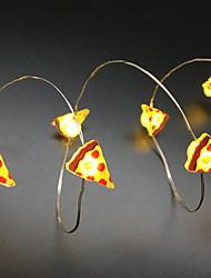 cheap -2 M String Lights 20 LEDs 2M String Light Warm White 1 set