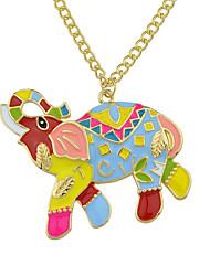 Недорогие -Жен. Ожерелья с подвесками  -  Классический Золотой Ожерелье Назначение Повседневные Новый год