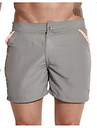 cheap -Men's Plus Size Bottoms - Solid Colored