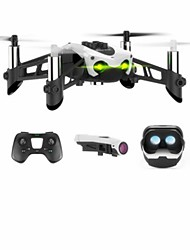 cheap -RC Drone SKMEI Mambo FPV 4 Channel 3 Axis Bluetooth With HD Camera 0.3MP RC Quadcopter Sideward flight Height Holding FPV With Camera