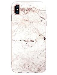 economico -Custodia Per Apple iPhone X iPhone 8 Ultra sottile Fantasia/disegno Per retro Effetto marmo Morbido TPU per iPhone X iPhone 8 Plus iPhone