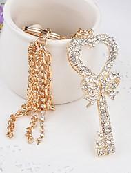 cheap -Romance Birthday Wedding Keychain Favors Zinc Alloy Keychain Favors - 1