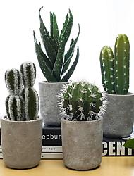 baratos -Flores artificiais 1 Ramo Estilo Moderno Plantas Flor de Mesa