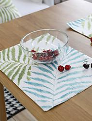 abordables -Motifs Coton / Polyester Carré Sets de table Décorations de table