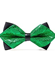 cheap -Men's Casual Bow Tie - Solid Colored