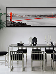 cheap -Landscape Scenic Illustration Wall Art,Plastic Material With Frame For Home Decoration Frame Art Living Room Indoor