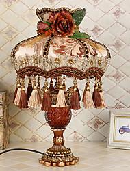 abordables -Simple Decorativa Lámpara de Mesa Para Dormitorio Metal 220v Rojo