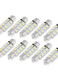 cheap -10 Light Bulbs 0.8W W SMD 3528 lm 8 Working Light Foruniversal General Motors All years