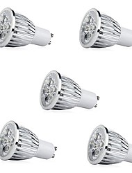 cheap -5pcs 7W 500 lm E14 GU10 E26/E27 LED Spotlight 5 leds High Power LED Decorative LED Light Warm White Cold White AC 85-265V