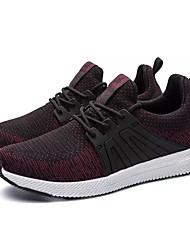 Muškarci Cipele Til Proljeće Jesen Udobne cipele Atletičarke tenisice Trčanje za Atletski Crn Crno/crvena