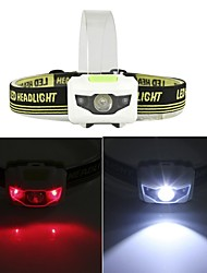 cheap -1200 Lumen R3+2LED 4 Models Super Bright Mini Headlamp Headlight Flashlight Torch Lamp