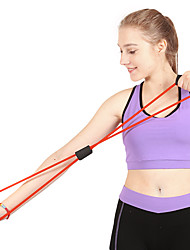 cheap -Exercise Bands/Resistance bands Exercise & Fitness Gym Pull Strength Training Rubber