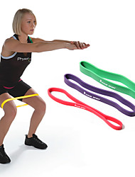 cheap -Exercise Bands/Resistance bands Suspension Trainer Exercise & Fitness Gym Athletic Training Rubber -