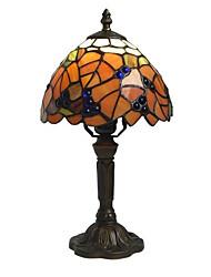billige -Metallic Dekorativ Bordlampe Til Soveværelse Metal Orange