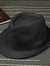abordables -Décontracté Coton Chapeau de soleil Eté Marron Blanc Noir Marron clair