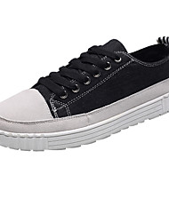 billige -Herre Stof Forår / Efterår Komfort Sneakers Sort / Grå / Rød
