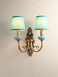 cheap -Mini Style Country Wall Lamps & Sconces For Living Room Bedroom Metal Wall Light IP44 5W