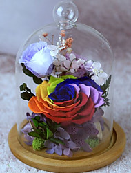 Недорогие -Не персонализированные Стекло Статуэткии фигурки Невеста Пара Свадьба День рождения