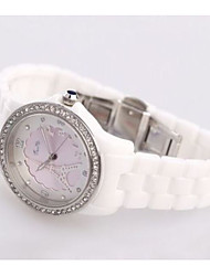 Недорогие -Не персонализированные Керамика Часы Пара Свадьба