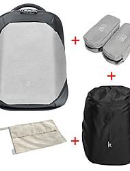 preiswerte -17.3 L Funktionelle Taschen Rucksack Laptop Tasche Wasserdichter Reißverschluß Anti verloren Nylon