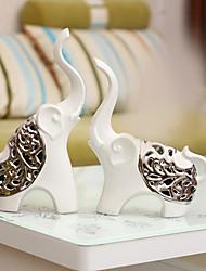 billige -2pcs Keramik / Metal Moderne / Nutidig / minimalistisk stil for Boligindretning, Samlegenstande Gaver