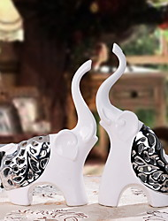 cheap -2pcs Ceramic Modern / ContemporaryforHome Decoration, Collectibles Gifts