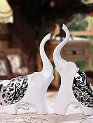 cheap -2pcs Ceramic Modern/ContemporaryforHome Decoration, Collectibles
