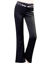 cheap -Yoga Pants Pants Waterproof / Breathable / Antistatic Natural Stretchy Sports Wear Red / Black Women's OthersYoga