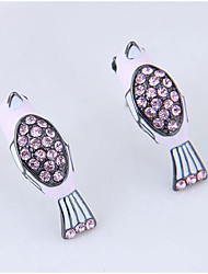 cheap -Women's Stud Earrings - Fashion Purple / Blue / Pink For Daily
