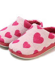 cheap -Girls' Shoes Fleece Spring Fall Vulcanized Shoes Comfort Slippers & Flip-Flops for Casual Fuchsia