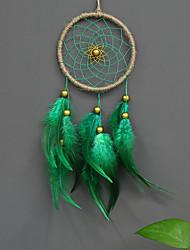 cheap -Wall Decor Feather/Fur Pastoral Wall Art, Dreamcatcher of 1