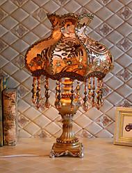 abordables -Moderne Cristal Lampe de Table Pour Salle de séjour Résine 220V