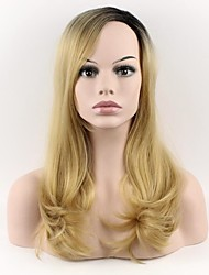 cheap -Synthetic Wig Natural Wave Synthetic Hair Natural Hairline Wig Women's Long Capless