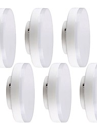 abordables -YWXLIGHT® 6pcs 5W 16 LED Installation Facile Spot LED Plafonniers Blanc Chaud Blanc Froid 220-240V Commercial Chambre Salon/Salle à