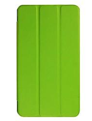 Недорогие -Кейс для Назначение Acer Универсальный со стендом Чехол Однотонный Твердый Кожа PU для S8