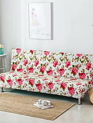 abordables -Moderno Rústico Jacquard de Poliéster al 100% Cobertor de Sillón Doble, Simple Floral Impreso Fundas