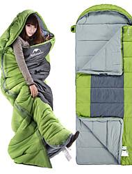 preiswerte -Naturehike Schlafsack Außen 8°C Rechteckiger Schlafsack warm halten Regendicht Dick für Camping & Wandern Frühling / Herbst