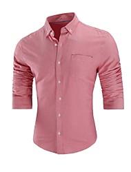 Majica Muškarci Jednobojni Osnovni