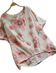 cheap -Women's Vintage T-shirt - Floral, Vintage Style Floral