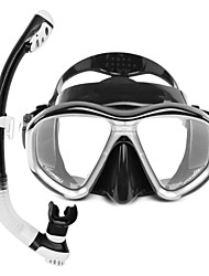 baratos -Kits para Snorkeling Mergulho Silicone Vidro Borracha - WHALE