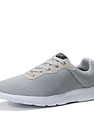 cheap -Men's Shoes Spring Fall Comfort Athletic Shoes Walking Shoes Lace-up for Casual Black Gray Dark Blue