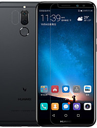 cheap -Screen Protector Huawei for Mate 10 lite PET Tempered Glass 2 pcs Front & Camera Lens Protector Anti-Glare Anti-Fingerprint Scratch Proof