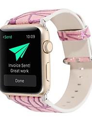 Недорогие -Ремешок для часов для Apple Watch Series 3 / 2 / 1 Apple Кожаный ремешок Натуральная кожа Повязка на запястье