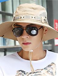 Недорогие -Муж. Шляпа от солнца - Классический Хлопок, С принтом